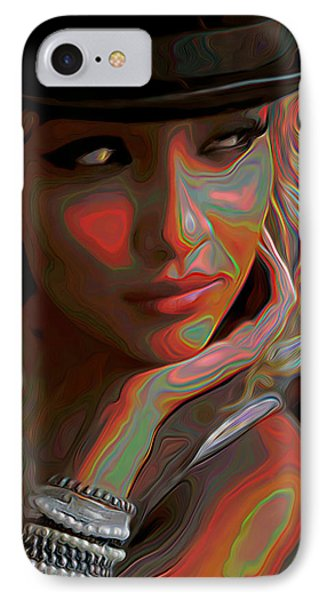 Je Le Veux IPhone Case by  Fli Art