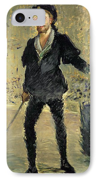 Jean Baptiste Faure In The Opera Hamlet By Ambroise Thomas IPhone Case by Edouard Manet