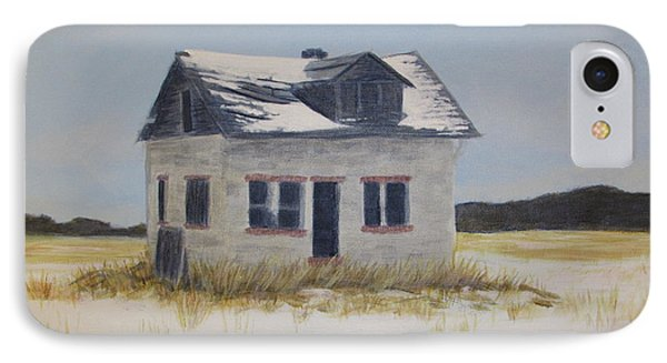 Jean Cote House On The Corner IPhone Case by Denise Hoag