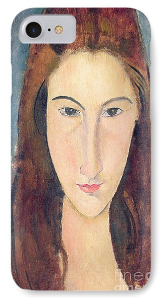 Jeanne Hebuterne IPhone Case by Amedeo Modigliani