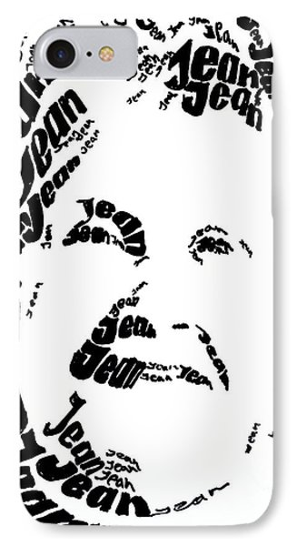 IPhone Case featuring the painting Jean's Portrait by PainterArtist FINs husband Maestro
