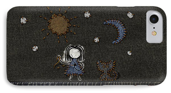 Jeans Stitches Phone Case by Gianfranco Weiss