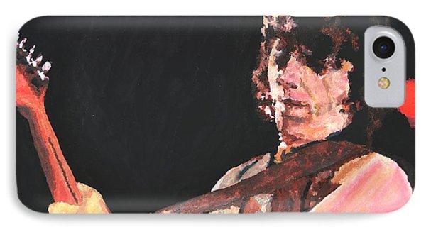 Jeff Beck IPhone Case by Paula Sharlea