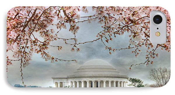 Jefferson Blossoms Phone Case by Lori Deiter