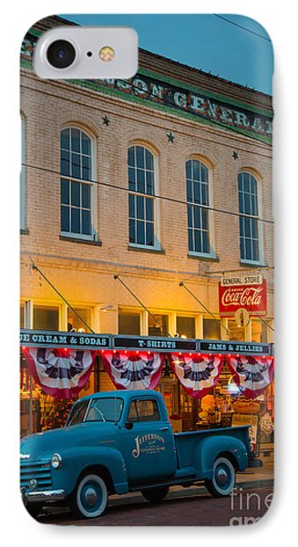 Jefferson General Store IPhone Case by Inge Johnsson
