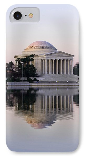 Jefferson Memorial At Sunrise II IPhone Case by Debra Bowers