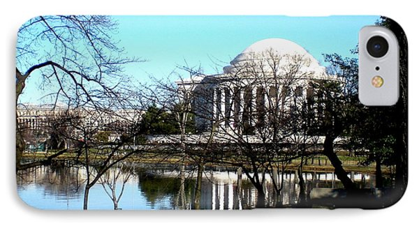 IPhone Case featuring the photograph Jefferson Memorial by Danielle  Parent