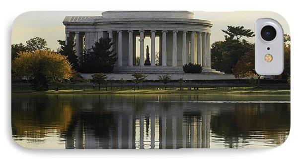Jefferson Memorial In Autumn IPhone Case
