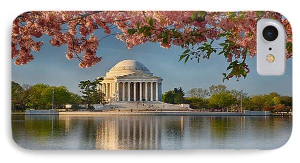 Jefferson Memorial In Spring IPhone Case