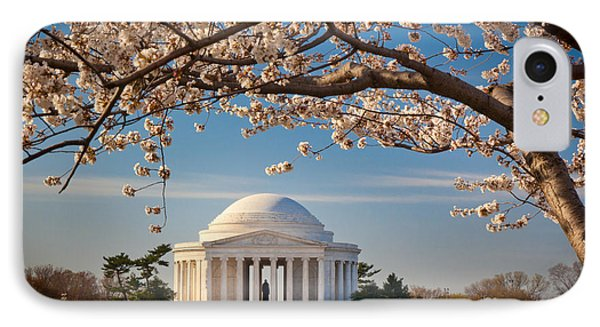 Jefferson Memorial IPhone Case by Inge Johnsson