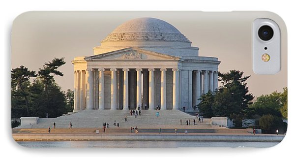 Jefferson Memorial IPhone Case by Laurie Tracy