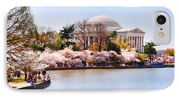 Jefferson Memorial Washington Dc IPhone Case by Vizual Studio