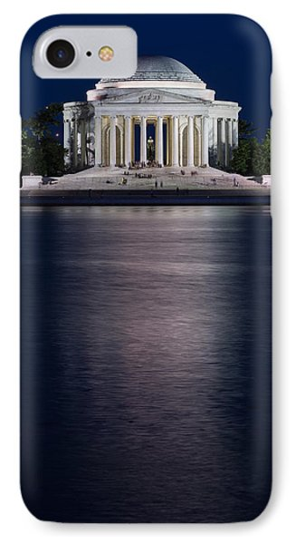 Jefferson Memorial iPhone 7 Case - Jefferson Memorial Washington D C by Steve Gadomski