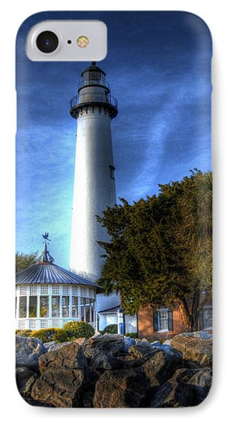 IPhone Case featuring the photograph Jekyll Island Lighthouse by Donald Williams