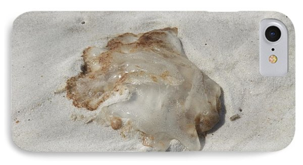 IPhone Case featuring the photograph Jellyfish Moon Or Mushroom by Deborah DeLaBarre