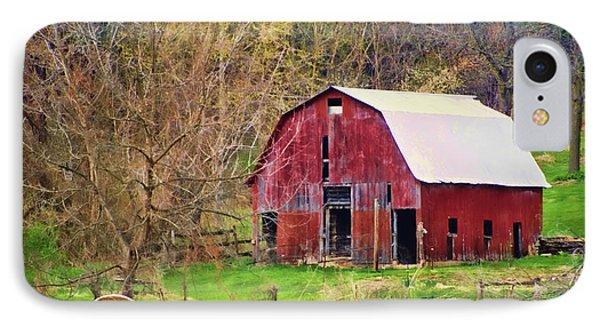 Jemerson Creek Barn IPhone Case by Cricket Hackmann