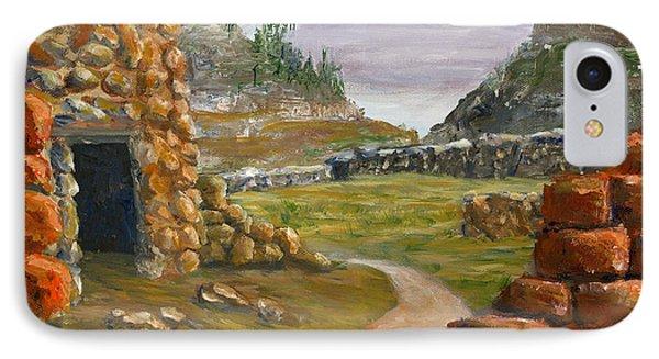 Jemez Inspired Pathway Landscape IPhone Case