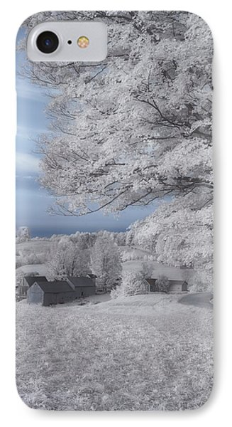 Jenne Farm Vermont In Infrared IPhone Case