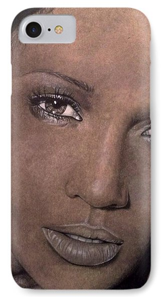 Jennifer Lopez IPhone Case by Angelee Borrero