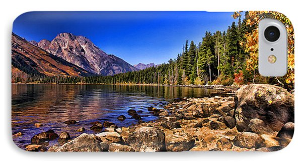 Jenny Lake IPhone Case by Clare VanderVeen