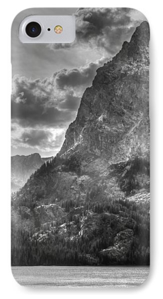 Jenny Lake In Shadow IPhone Case by Jeremy Farnsworth