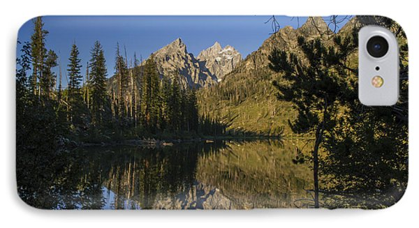 Jenny Lake IPhone Case by Michael J Bauer