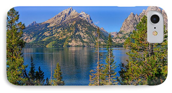 Jenny Lake Overlook IPhone Case by Greg Norrell