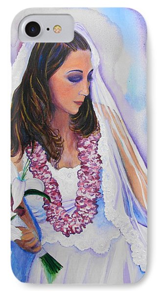 IPhone Case featuring the painting Jenny by Margaret Bobb