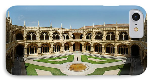 IPhone Case featuring the photograph Jeronimos Monastary by Luis Esteves