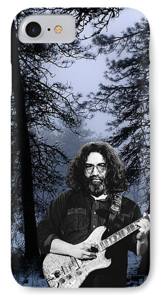 IPhone Case featuring the photograph Jerry Cold Rain And Snow by Ben Upham