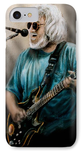 Jerry Garcia By Edward Pollick Phone Case by Edward Pollick