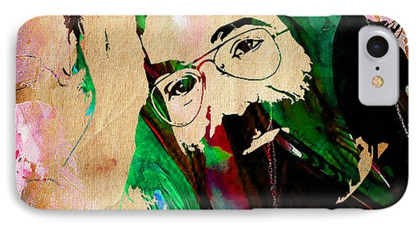 Jerry Garcia IPhone Case by Marvin Blaine