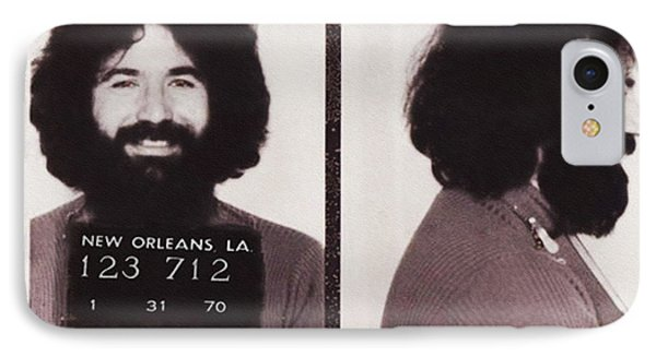 Jerry Garcia Mugshot IPhone Case