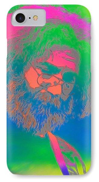 Jerry Garcia Tie Dye IPhone Case
