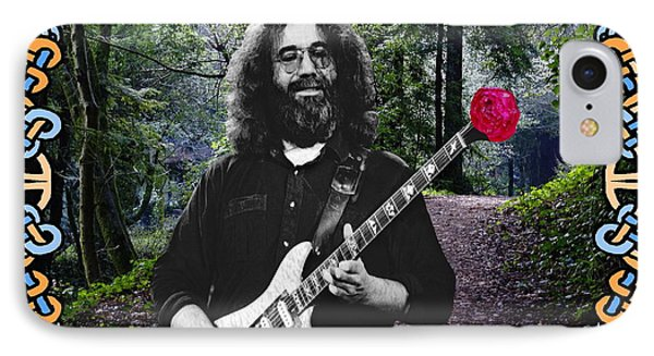 Jerry Road Rose 1 IPhone Case by Ben Upham