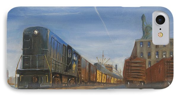 Jersey Central Lines Phone Case by Christopher Jenkins