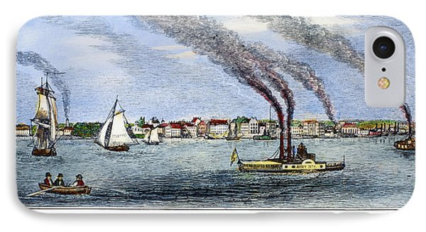 Jersey City, 1844 Phone Case by Granger