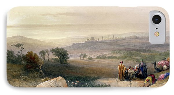 Jerusalem, April 1839 IPhone 7 Case by David Roberts