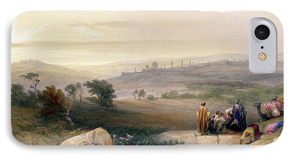 Jerusalem, April 1839 IPhone Case by David Roberts