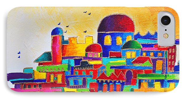 Jerusalem IPhone Case by Dawnstarstudios