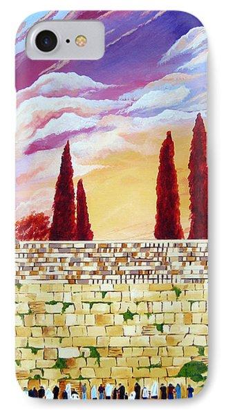 Jerusalem Prayers IPhone Case by Dawnstarstudios