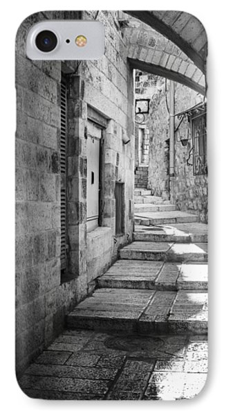 Jerusalem Street IPhone Case by Alexey Stiop