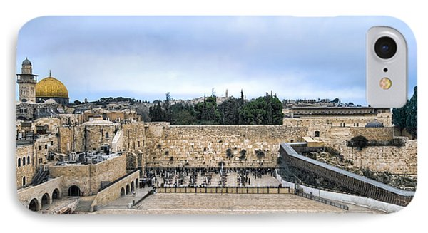 Jerusalem The Western Wall IPhone Case