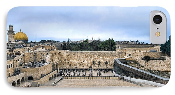 Jerusalem The Western Wall IPhone Case