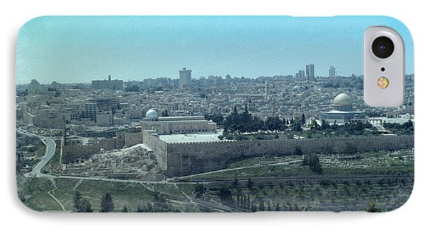 IPhone Case featuring the photograph Jerusalem by Tony Mathews
