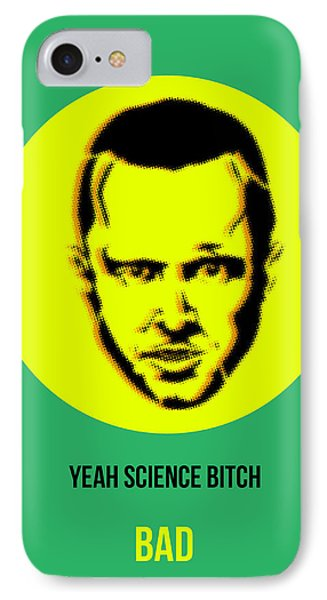 Jesse Breaking Bad Poster 2 Phone Case by Naxart Studio