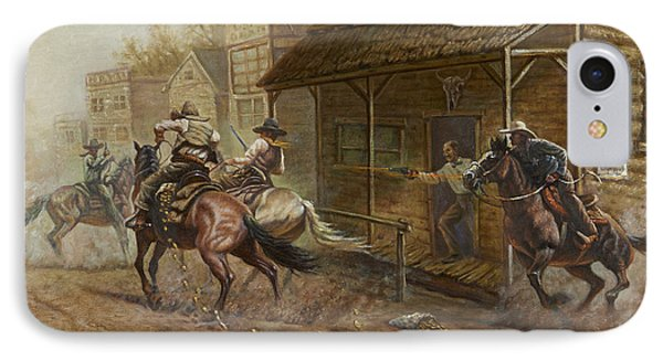 Jesse James Bank Robbery IPhone Case