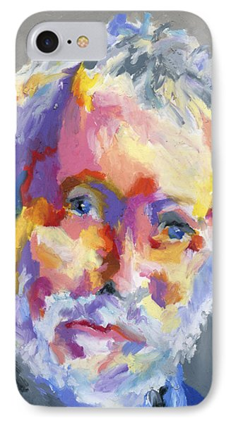 IPhone Case featuring the painting Jesse Winchester by Stephen Anderson
