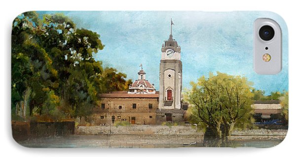 Jesuit Block And Estancias Of Cordoba Phone Case by Catf