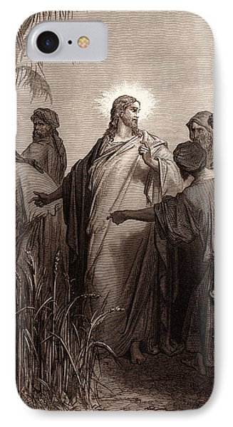 Jesus And His Disciples In The Corn Field IPhone Case